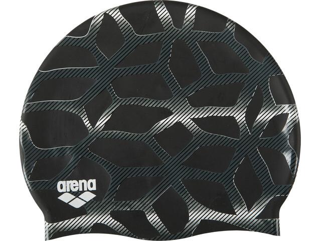 arena Print 2 Swin Caps spider-black